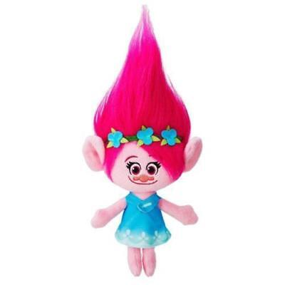 New DreamWorks Movie The Good Luck Trolls - Princess Poppy Plush Doll Toy 9""