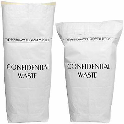 20 x Peel & Seal Large 60L Paper Sack/Paper Waste/Shredded