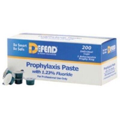 Defend Prophy Paste Fine Grit Bubble Gum Flavored With Fluoride 200box