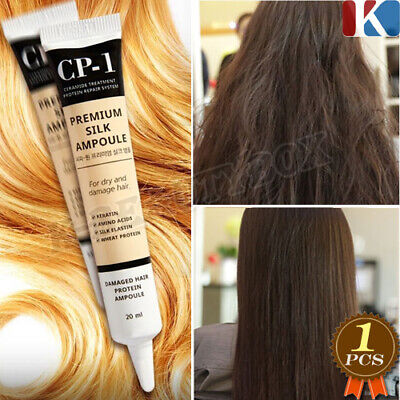 New Premium Silk Ampoule 20ml Damaged Hair Protein Ampoule Keratin Hair Ampoule