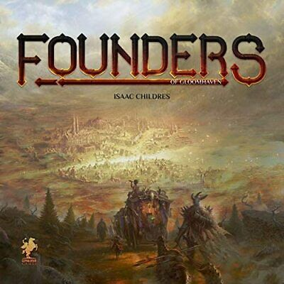 Founders of Gloomhaven Cephalofair Games New! Free Shipping!