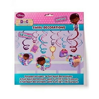 DesignWare Disney Doc McStuffins Swirl Decorations Package of 1 Party Cutouts