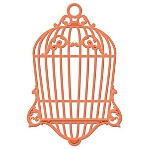 Spellbinders D-lites Bird Cage Two embossing die - $15