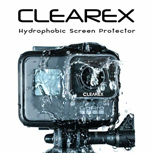 Hydrophobic Screen Protector for GoPro Hero 5 & 6 by Clearex | Water Repellent