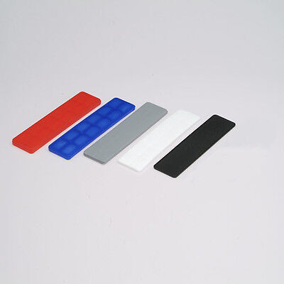 32mm Plastic Glazing Packers 2mm, 3mm, 4mm, 5mm and 6mm thick MIXED BAGS x 100