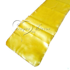 30 x 275cm Satin Table Runners 12