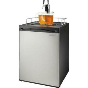 Insignia 2-Tap Kegerator  5.6 CU.F. stainless steel. (NS-BK2TSS6) - Super Sale. $349.00 NO TAX.