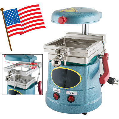 Dental Vacuum Past Forming Molding Machine Thermoforming Lab Equipment 110V