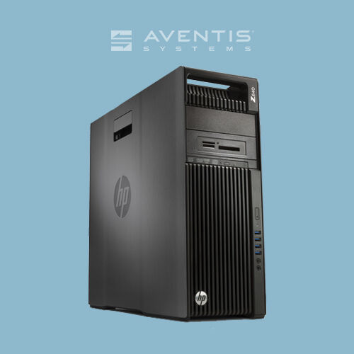 Hp Z440 Workstation Twr Xeon 8-core 2.4ghz / 8gb / 2x 160gb Sata /win 10 /1yr
