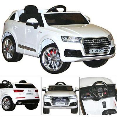 vidaXL Kinder Elektroauto Audi Q7 Rot 6V Elektro Kinderauto Kinderfahrzeug☺ Batteriebetriebene Fahrzeuge