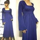 Winter Solid Maxi Dresses for Women