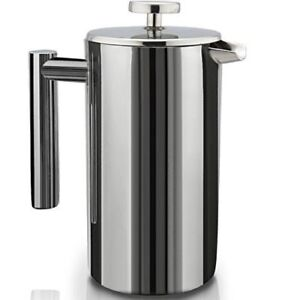 SterlingPro Double Wall Stainless Steel French Coffee Press NEW