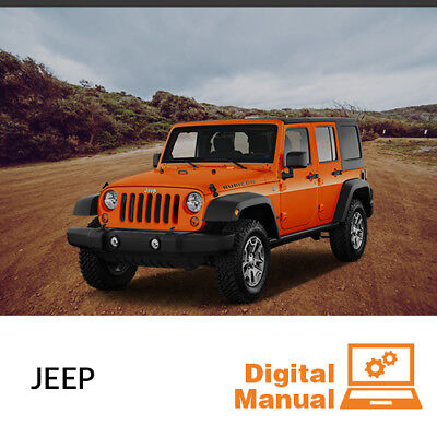 Jeep   Service And Repair Manual 30 Day Online Access