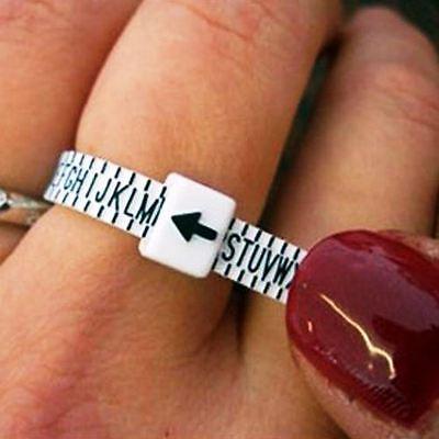 Ring Sizer UK Gauge Finger Measure Engagement SAME DAY FREE POST Best UK Seller