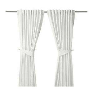 Stunning ikea curtains. perfect for bedroom or living room.