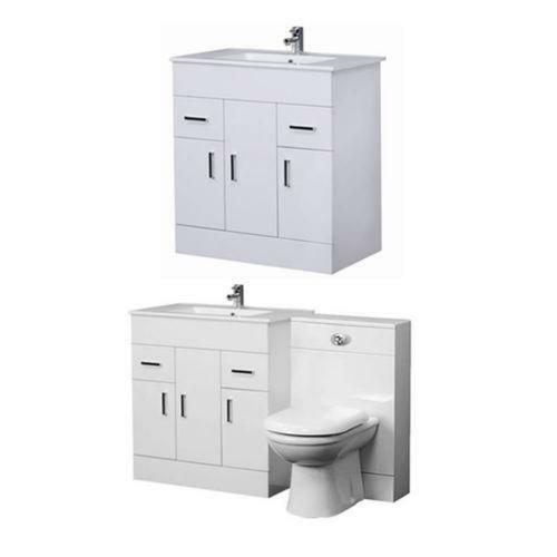 Vanity Unit And Toilet Home Furniture DIY EBay