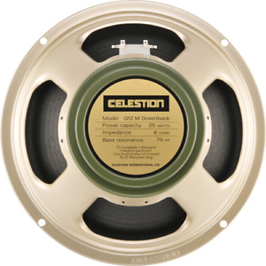New Celestion G12M Greenback 25w 8ohm, for sale or trade
