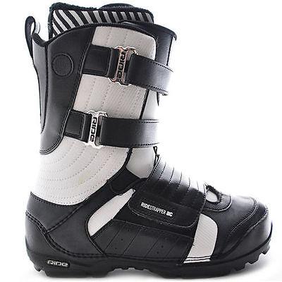 RIDE STRAPPER AC black/white men's boots scarponi da snowboard uomo