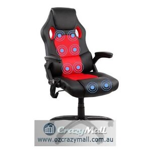 PU Leather Massage Office Executive Chair Black Red White Beige Melbourne CBD Melbourne City Preview