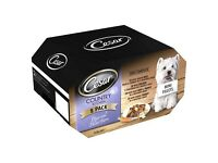 BNIB CESAR Country Kitchen in Gravy Dog Food Trays 16 pk (in 2 x 8 pks) SPECIAL OFFER PRICE