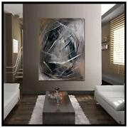 Brown Abstract Painting