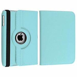 360-degree Swivel Leather Case Compatible with Apple,iPad Mini2&
