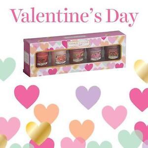Yankee Candle 2017 Valentines Day 5 Sampler Gift Set