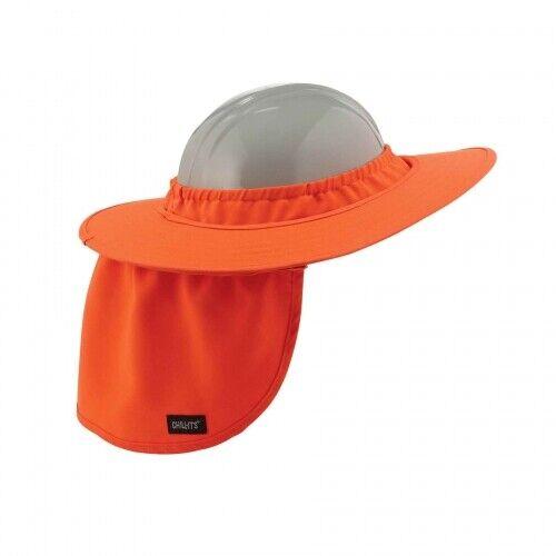 Ergodyne Chill-Its 6660 Hard Hat Brim w/ Shade Hi-Viz Orange