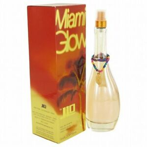 MIAMI GLOW * J.LO Jennifer Lopez * Perfume for Women * 3.4 oz * NEW IN BOX