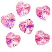 Crystal Heart Beads
