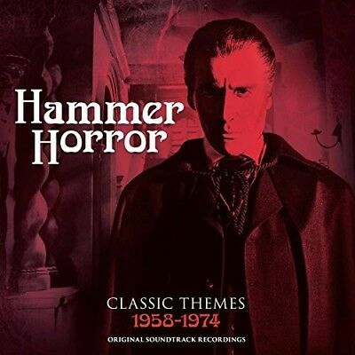 Hammer Horror  Classic Themes 1958 1974  New Cd  Australia   Import