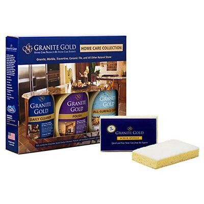 Granite Gold Home Care Collection Granite Cleaner  Granite Polish  All Surface