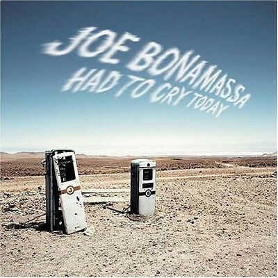 Joe Bonamassa   Had To Cry Today  New Cd