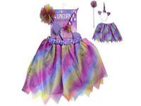 Girls Age 2-3 Unicorn Dress Up