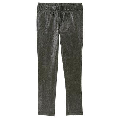 NWT Crazy 8 Gray  Sparkle Glitter Girls Leggings 5-6 7-8 10-12 14 - Girls Sparkle Leggings