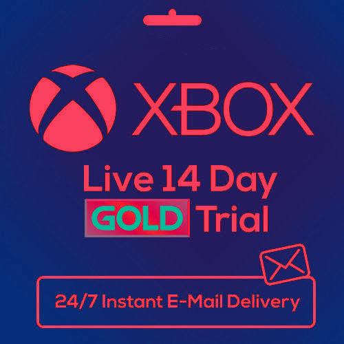 XBOX LIVE 14 DAY XBOX 360/ONE GOLD TRIAL CODE INSTANT DISPATCH 24/7 No Exp Date