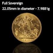 Full Gold Sovereign