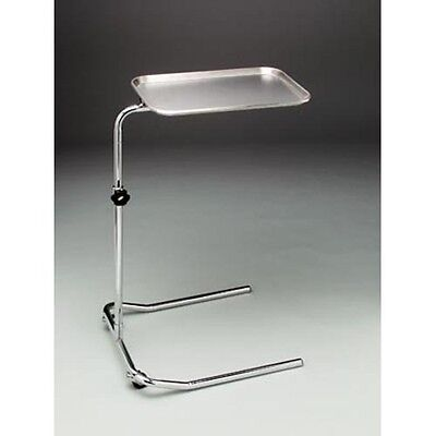 Mayo Stand U-shaped Base Height Adjusts From 28 - 48 Stainless Steel 1 Ea