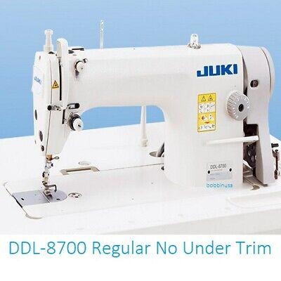 Juki Ddl-8700 Machine Head Servo Motor T Legs Cast Wheels Table Top Pick Up Only