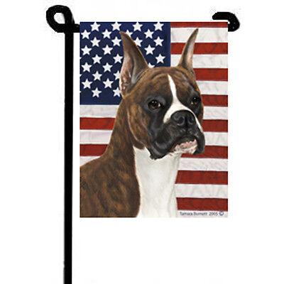 Boxer True Blue Garden Flag - Boxer Garden Flag