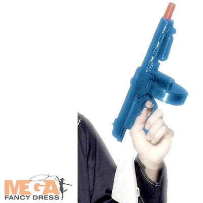 Gangsters Toy Tommy Gun 1920s Fancy Dress Costume Outfit Mens Ladies Accessory