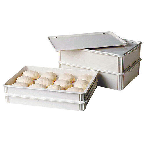 "Cambro DB18263CW148 Pizza Dough Box - Camwear Polycarbonate, 18""Wx26""Dx3""H"