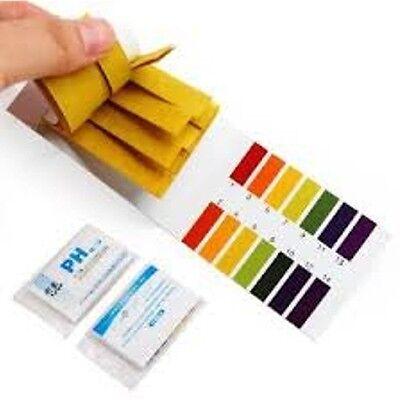 Laboratory 160 Ph Indicator Test Strips 1-14 Paper Tester Litmus Urine Saliva