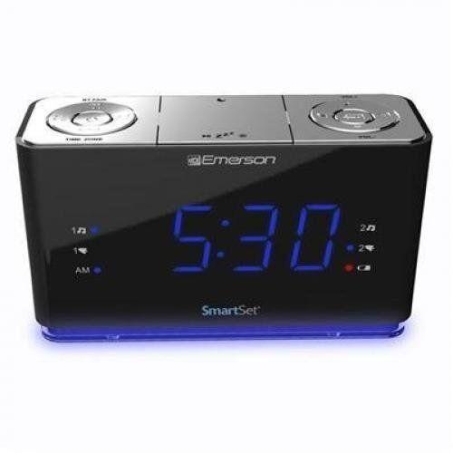 Emerson Smartset Alarm Clock Bt Usb (CKS1507)™