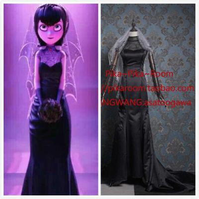 Hotel Transylvania Mavis Cosplay Wedding dress Halloween Party Dress clothing - Hotel Transylvania Mavis Dress