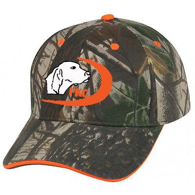 935b68c0 Cap Hat PKC Coon Hunter Squirrel Hunt Coonhound Dog Oak Orange Trim Hound
