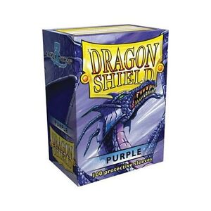 100-Dragon-Shield-Purple-Protective-Sleeves-Sealed-Magic-MTG-FREE-SHIPPING