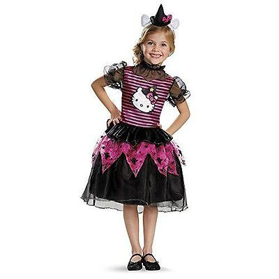New Disguise Hello Kitty Witch Classic Toddler Halloween Costume girl Small 2](Toddler Girl Kitty Costume)