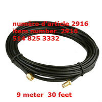 9M Antenna RP-SMA Extension Cable WiFi Router