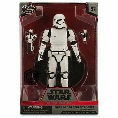 Star Wars : First Order Stormtrooper - Disney Elite Series Die-Cast Figure NEW